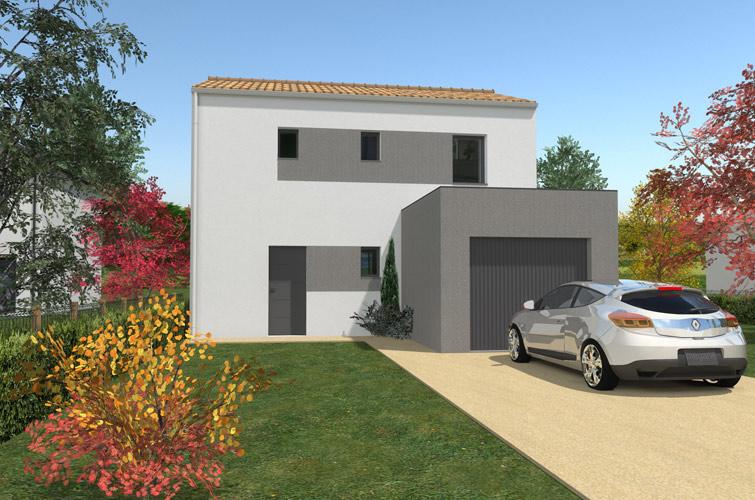 Terrain + maison à Besné  44160