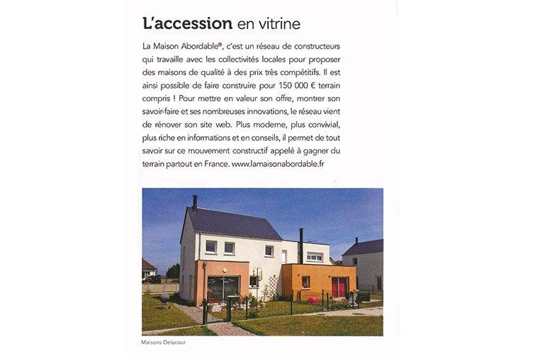 Article de faire construire sa maison l 39 accession en vitrine for Construire sa maison sur internet