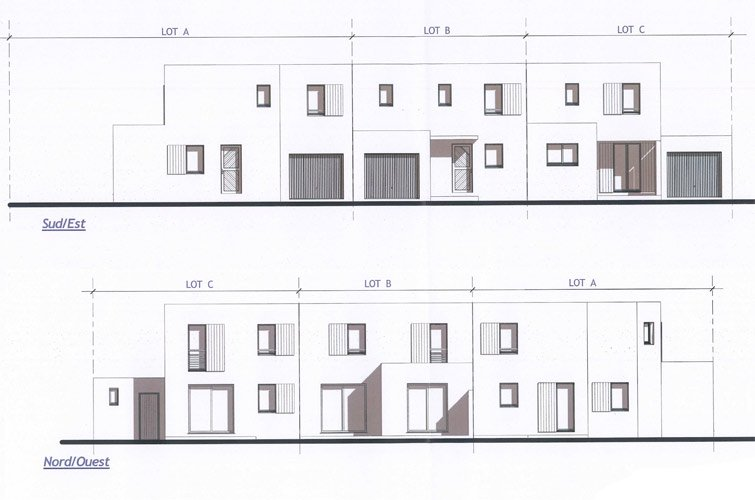 elevations facades angles