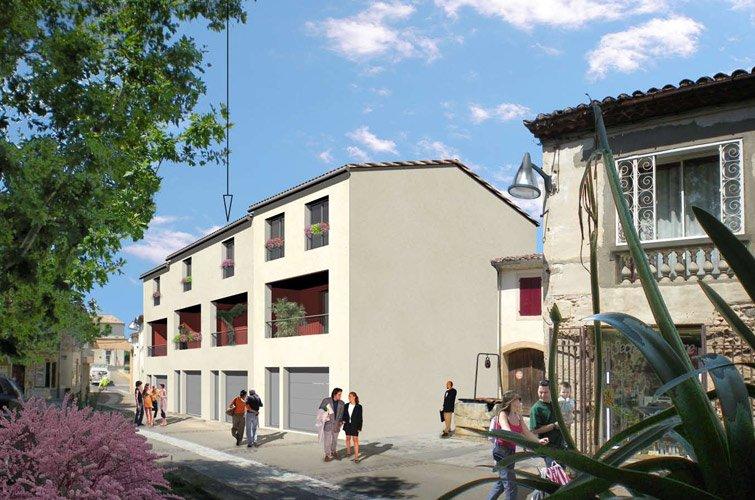 Projet immobilier construction maison garons partir de for Construction maison contemporaine gard
