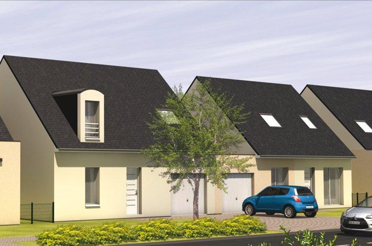 projet immobilier construction maison corn maine et loire. Black Bedroom Furniture Sets. Home Design Ideas