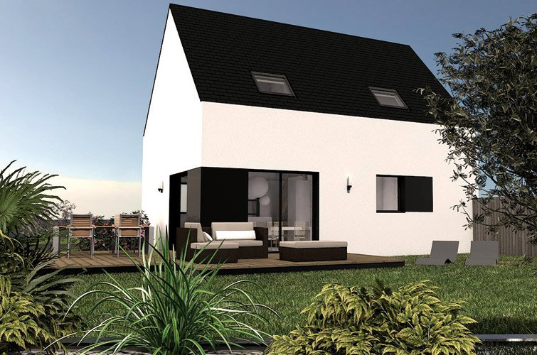 maison abordable lot7 terrasse