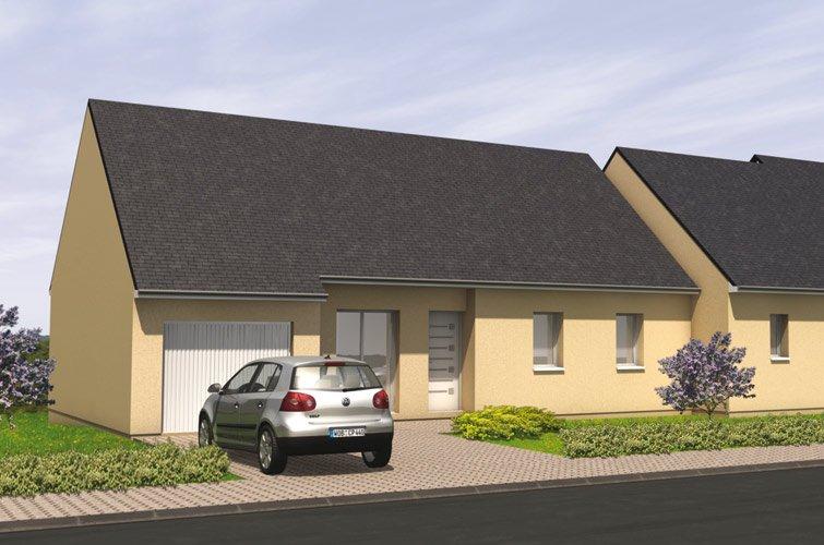 Projet immobilier construction maison thouarc sur for Projet de construction terrain maison