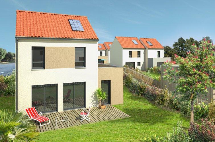 Projet immobilier construction maison bouaye loire atlantique - Descriptif construction maison individuelle ...