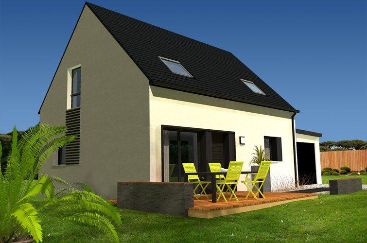 Projet immobilier construction maison erdeven morbihan for Projet maison construction