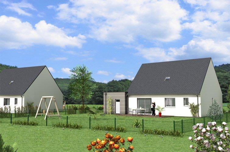 Projet immobilier construction maison fay sur terrain for Constructeur maison individuelle 72