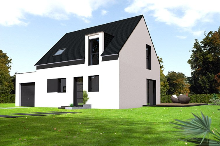 Projet immobilier construction maison mellac finist re for Constructeur de maison individuelle loi 1990