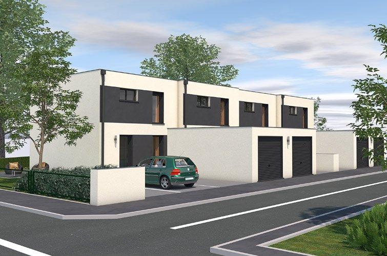 Projet immobilier construction maison kersaint plabennec finist re - Garage bervas kersaint plabennec ...