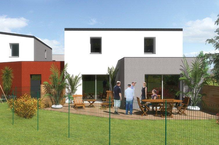 projet immobilier construction maison saint nazaire partir de m sur terrain partir. Black Bedroom Furniture Sets. Home Design Ideas