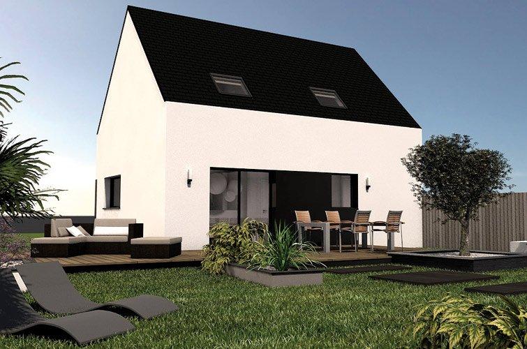 projet immobilier construction maison saint pol de l on partir de m finist re. Black Bedroom Furniture Sets. Home Design Ideas