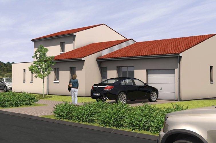 Projet immobilier construction maison montrevault maine for Terrain et construction maison individuelle