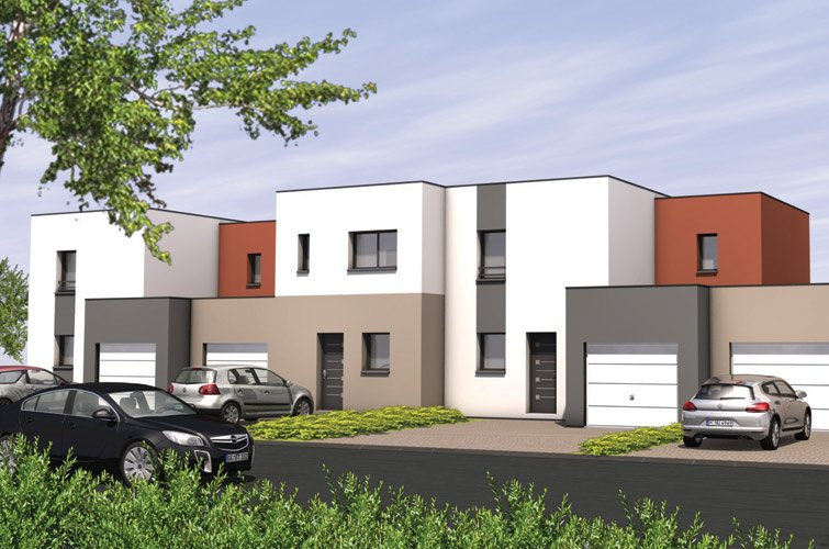 Projet immobilier construction maison le may sur vre for Projet construction immobilier