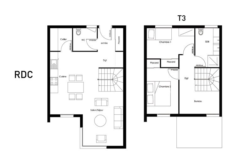 plan modulhome t3 1
