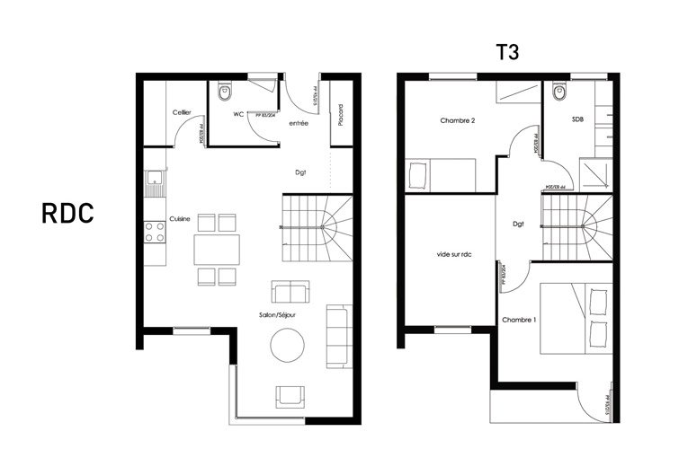 plan modulhome t3 2