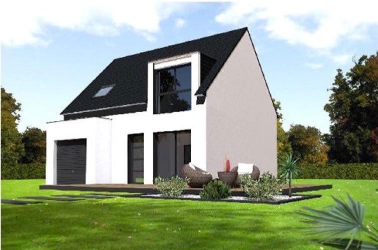projet immobilier construction maison plourin l s morlaix partir de m sur terrain. Black Bedroom Furniture Sets. Home Design Ideas