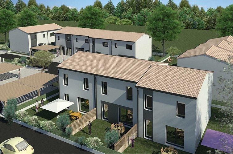 Projet immobilier construction maison jonquerettes gard for Construction maison contemporaine gard