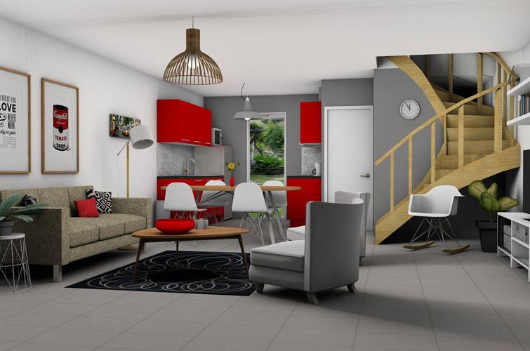 Terrain + maison à Lunel-Viel  34400