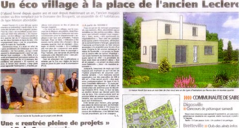 article ecovillage tourlaville