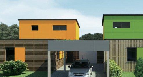 maison modulaire prix achat prix des styles de maison de maison en bois version t2 rdc. Black Bedroom Furniture Sets. Home Design Ideas