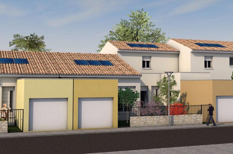 Terrain + maison à Saturargues  34400