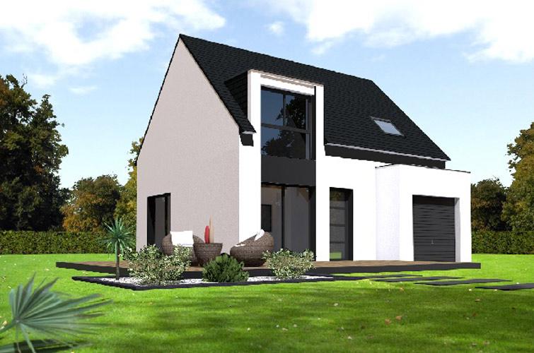 Terrain + maison à Plozévet  29710