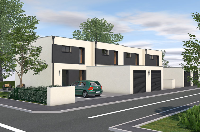 Terrain + maison à Kersaint-Plabennec  29860