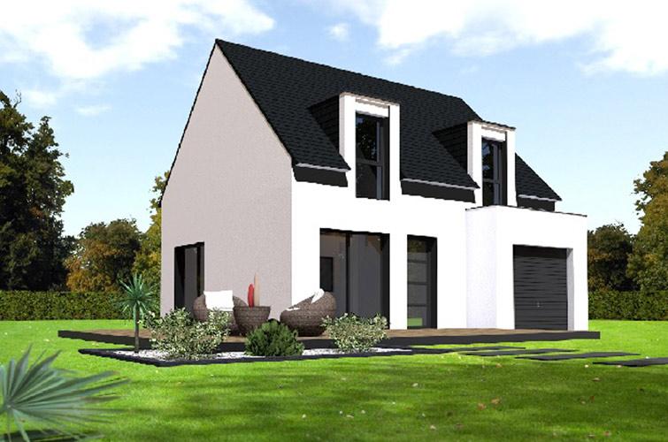 Terrain + maison à Le Folgoët  29260
