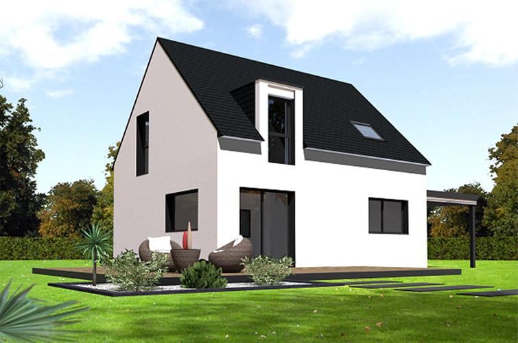 Terrain + maison à Plouégat-Moysan  29650