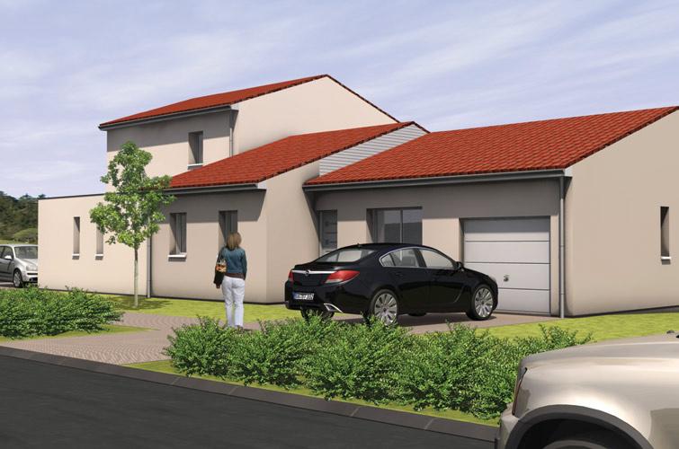 Terrain + maison à Montrevault  49110