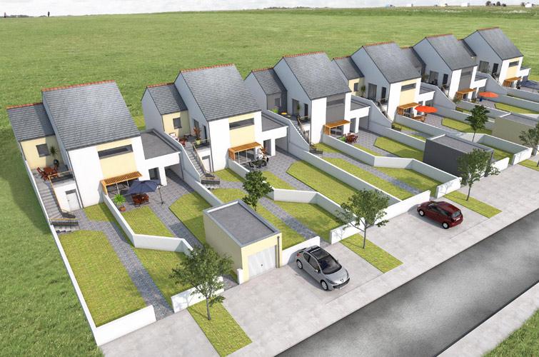 Terrain + maison à Montoir-de-Bretagne  44550