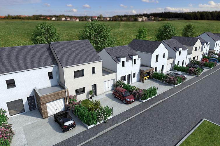 Terrain + maison à Saint-Mars-du-Désert  44850