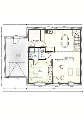 projet construction maisons corn maine et loire 49. Black Bedroom Furniture Sets. Home Design Ideas
