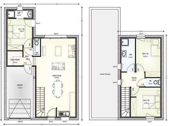 Plan Maison Etage 4 Chambres - Avis Sur Notre Plan Maison Tage Avec