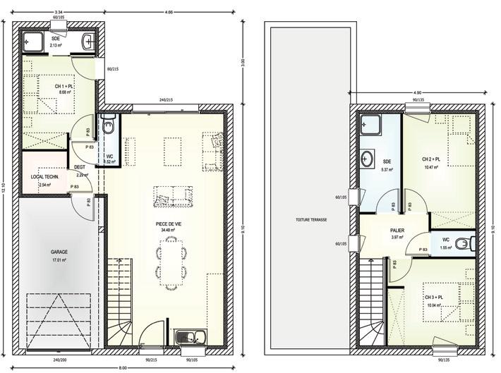 projet immobilier construction maison le may sur vre maine et loire. Black Bedroom Furniture Sets. Home Design Ideas